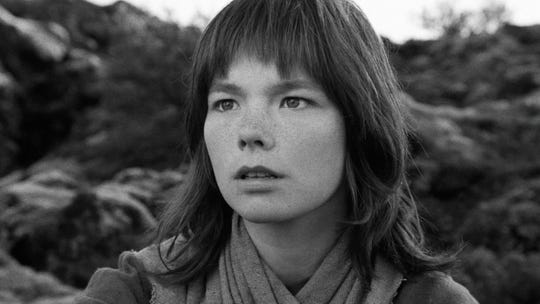 """The  elfin Björk is ideally cast in the fairy tale-like """"The Juniper Tree,"""" which screens Wednesday at the Studio on the Square."""
