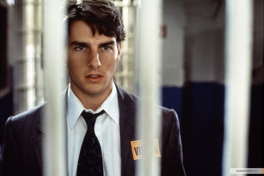"""Young Tom Cruise came to Memphis to make """"The Firm."""""""