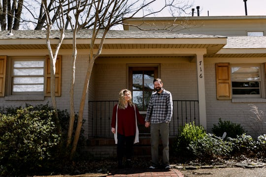 David and Amanda Krog will open their new restaurant Dory in the Fall at 716 W. Brookhaven Circle in East Memphis. Photo by Ally Perkins.