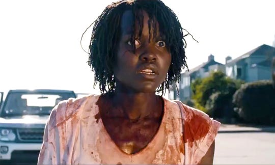 "Lupita Nyong'o heads the cast of Jordan Peele's horror movie, ""Us."""