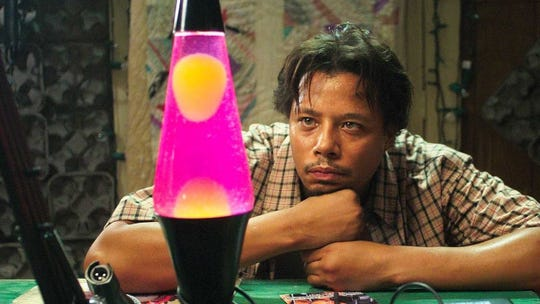 """Hustle and lava flow: Terrence Howard lamps a lava lamp in """"Hustle & Flow."""""""