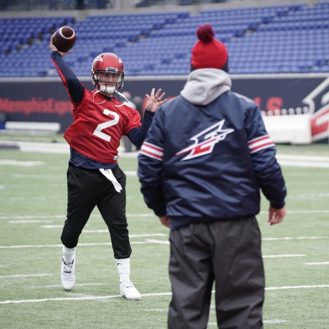 Is Johnny Manziel ready to play right away? Memphis Express GM: It's not out of the question