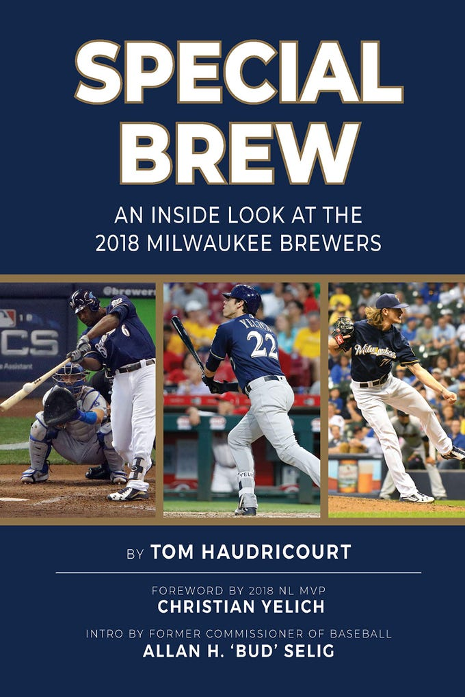 Special Brew: An Inside Look at the 2018 Milwaukee Brewers. By Tom Haudricourt. KCI Sports Publishing.