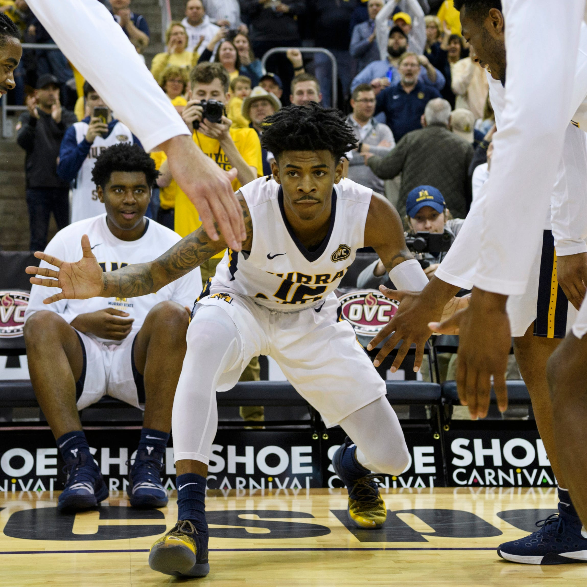 Murray State's Ja Morant is a future NBA lottery pick who presents a challenge for Marquette at NCAA Tournament