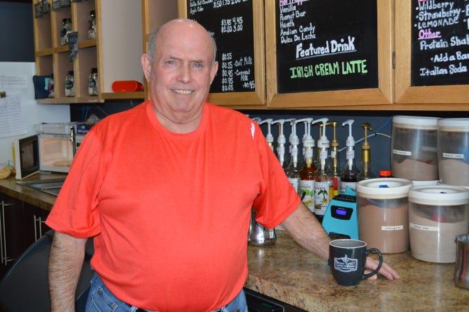 Greendale Village President Jim Birmingham owns Broad Street Coffee Co. in Greendale.