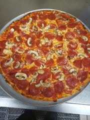 The pizza at Endter's Sports Grill has become a major fan favorite.