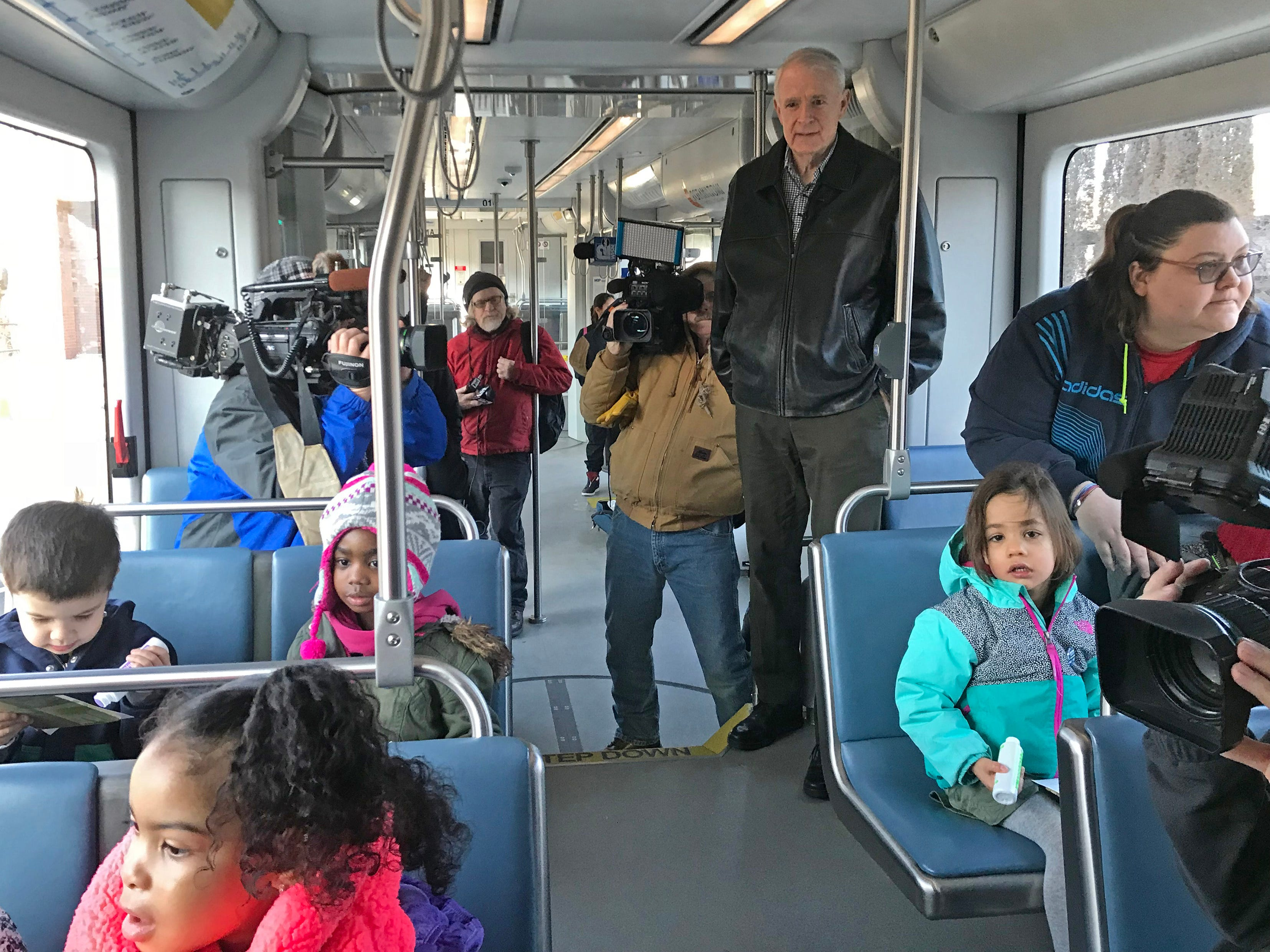 Ridership on The Hop fell in January, and a counting glitch leaves February and early March numbers unknown