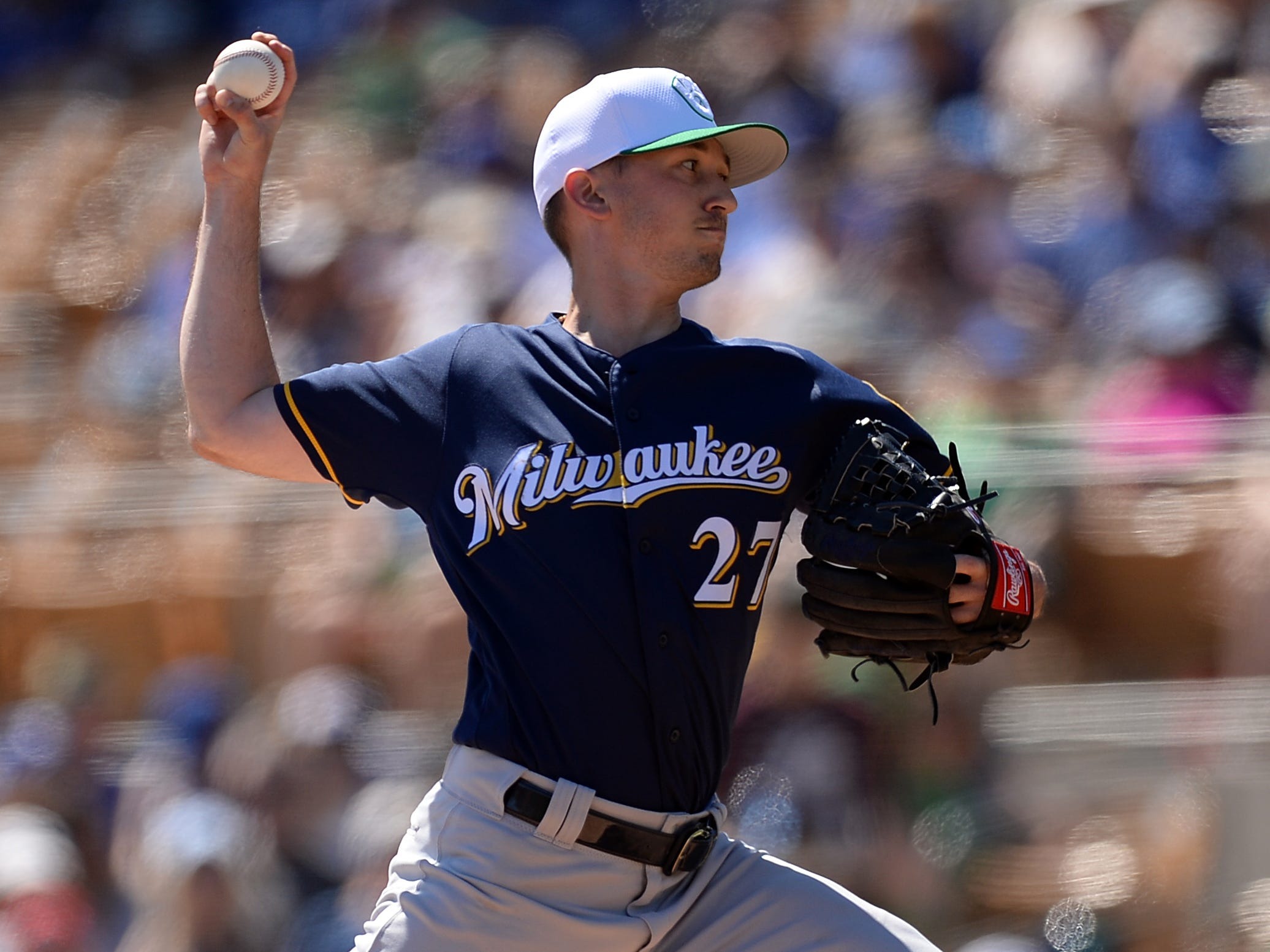 Brewers pitcher Zack Davies wishes he didn't trot out some mechanical changes in his delivery against the Dodgers on Sunday as he roughed up for six runs in 2 2/3 innings.