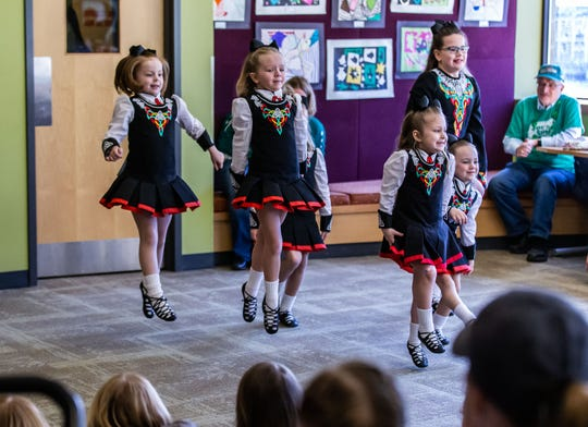 A performance by Irish dancers will be held on the last day of St. Mary's Parish festival for all to enjoy.
