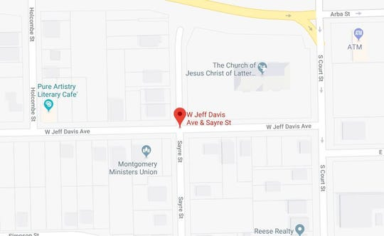 A man suffered a non-life threatening gunshot injury near the intersection of West Jeff Davis Avenue and Sayre Street.