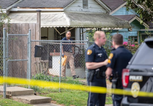 A man suffered life-threatening injuries after a shooting at a Taylor Street home in the King Hill community.