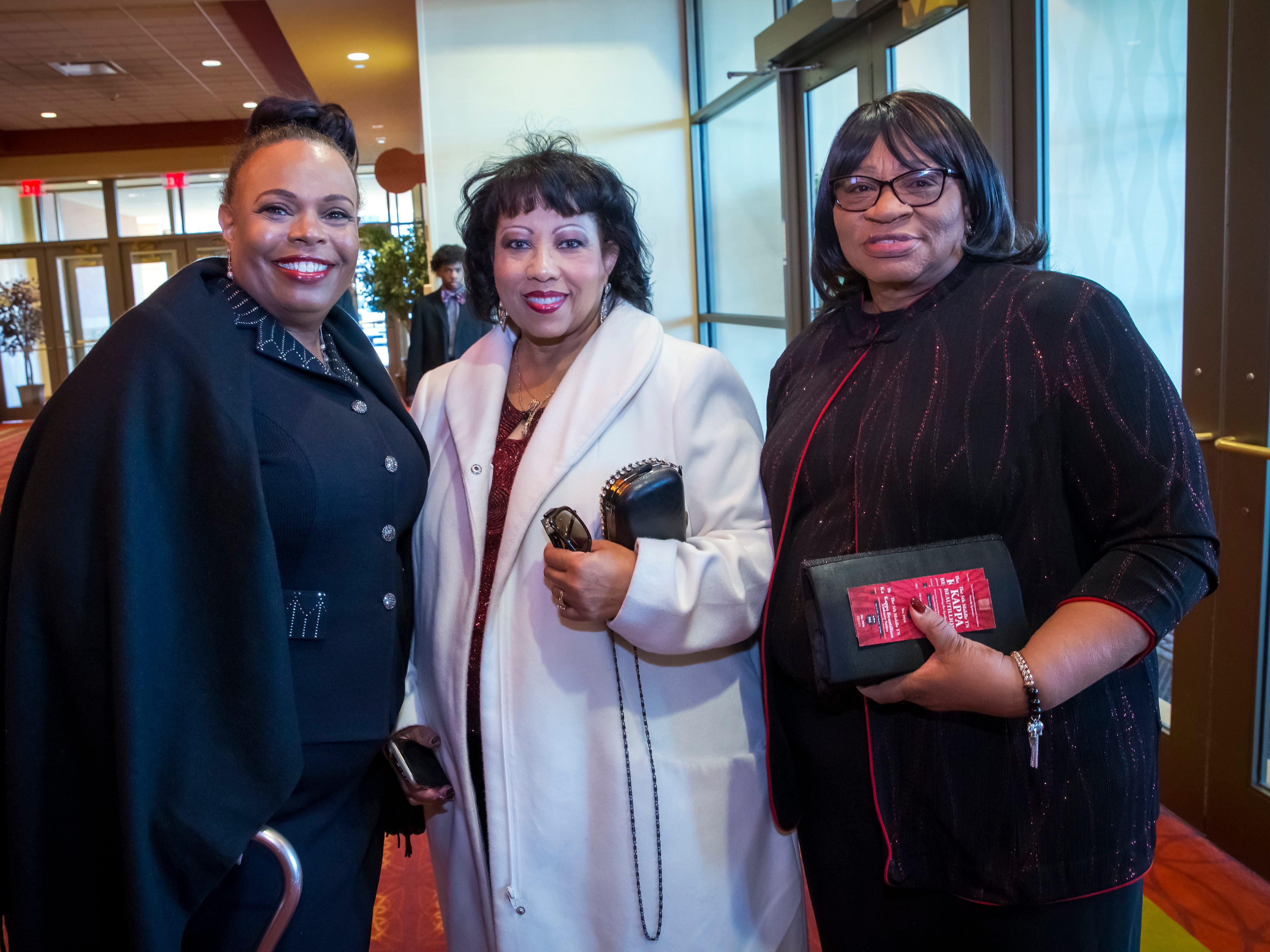 Sonja Brown Decoatch, Beryl Harris and Mary Wade at the Murfreesboro Alumni Chapter of Kappa Alpha Psi Fraternity Beautillion held at Embassy Suites Murfreesboro on Saturday, March 16, 2019.