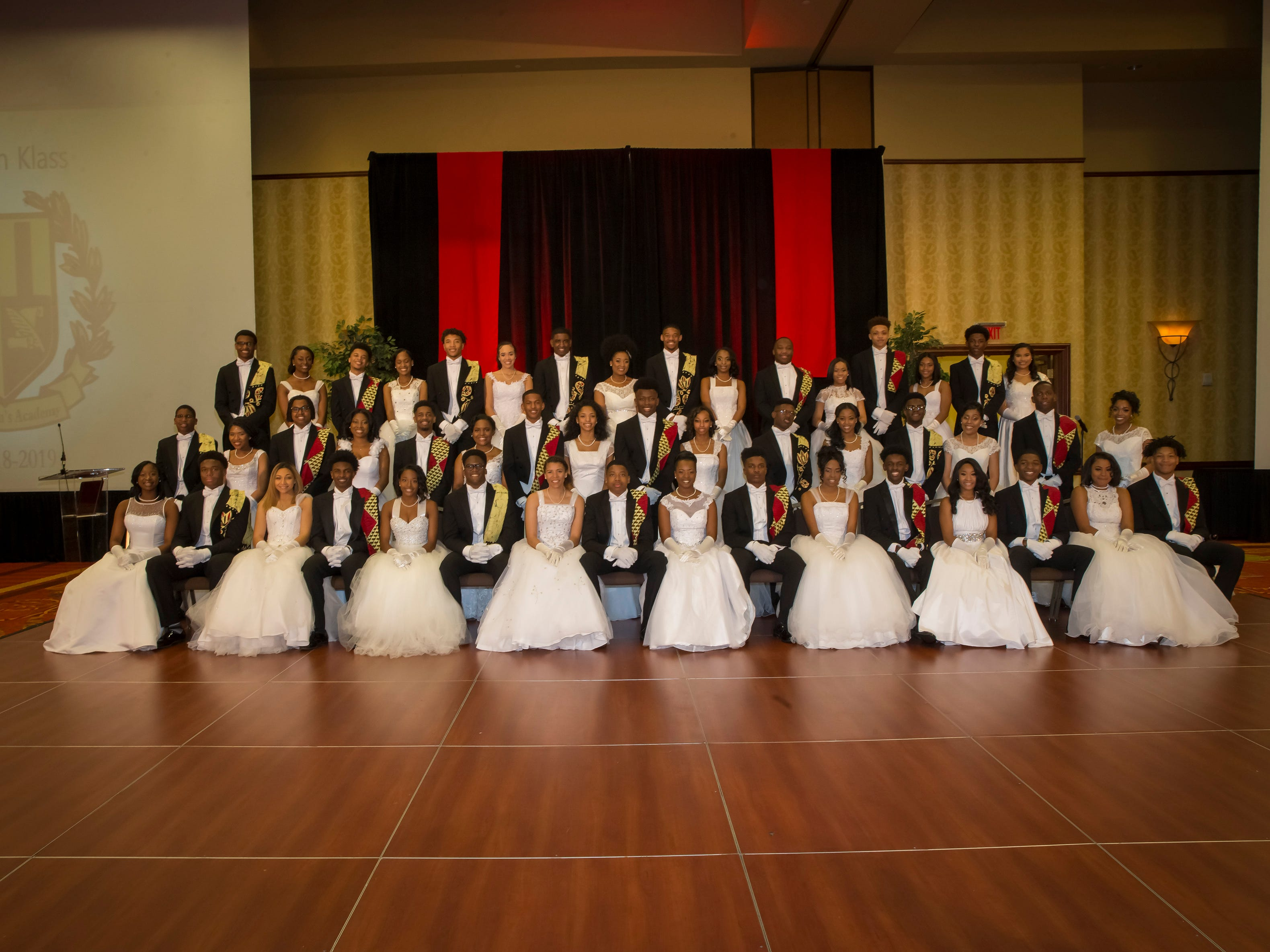 The Murfreesboro Alumni Chapter of Kappa Alpha Psi Fraternity Beautillion held at Embassy Suites.