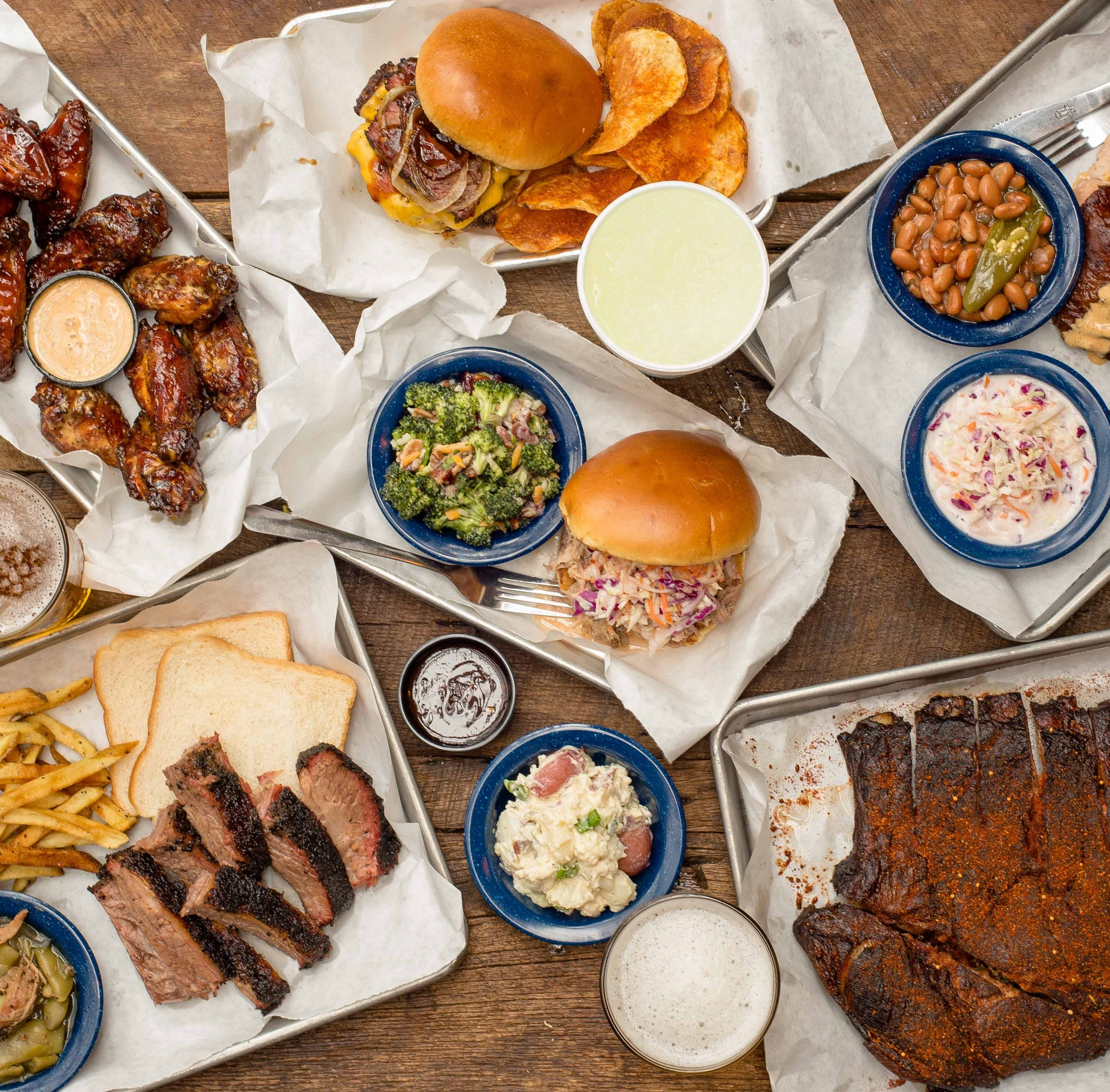 Martin's Bar-B-Que Joint will open on March 26 at...