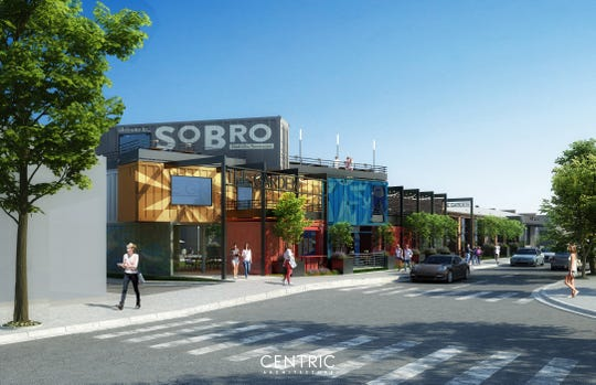 An Ole Smoky moonshine distillery, taproom, tasting room and beer garden are being constructed in SoBro