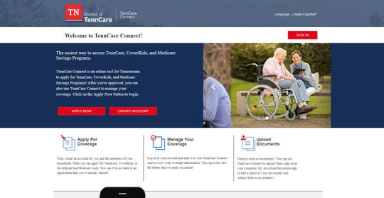The TennCare Connect a web portal, part of a brand new, $400M TennCare application system, launched in March.