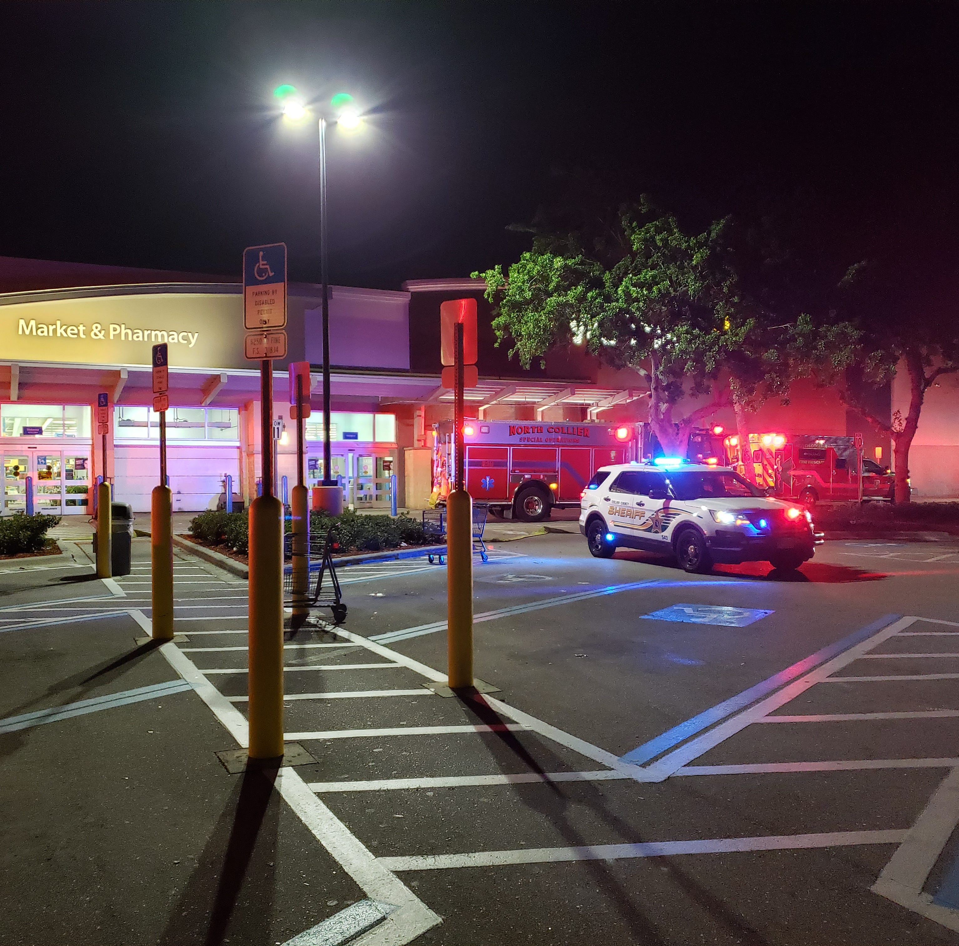 North Naples Walmart evacuated Sunday night; possible fire investigated