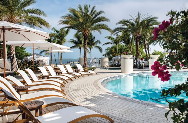 Pool at Playa Largo Resort & Spa in Key Largo, Florida.