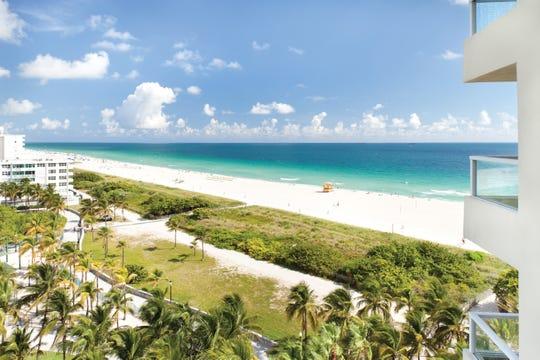 Marriott Stanton South Beach in Miami Beach, Florida.