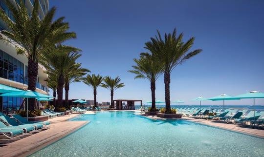 Opal Sands Resort in Clearwater Beach, Florida.