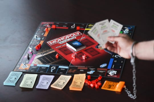In Monopoly: Cheater's Edition, you could wind up in handcuffs