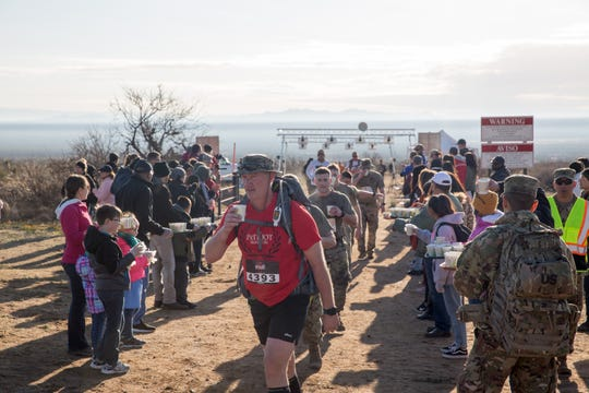 More than 8,600 people participated in the 30th Bataan Memorial Death March, staged March 17, 2019, at White Sands Missile Range.