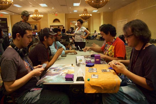 In this file photo, the sixth annual Las Cruces Game Convention takes place at the Las Cruces Convention Center.