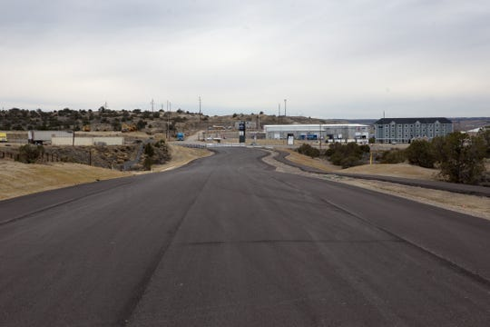Aztec's arterial route is pictured, Thursday, Jan. 12, 2017 south of Aztec. The capital outlay bill would provide funding to complete the road, which will divert commercial traffic from downtown.