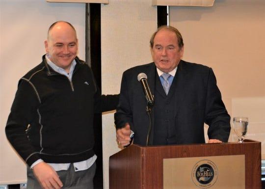 Stella's Black Dog Tavern owners  Jim Sullivan (left) and Bob Ostendorf.