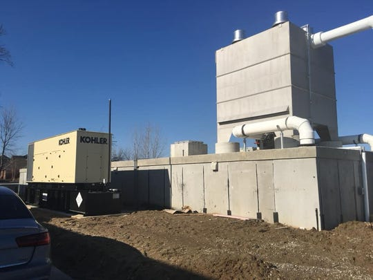 The Woodwind water treatment plant has a new addition that houses a filtration system.