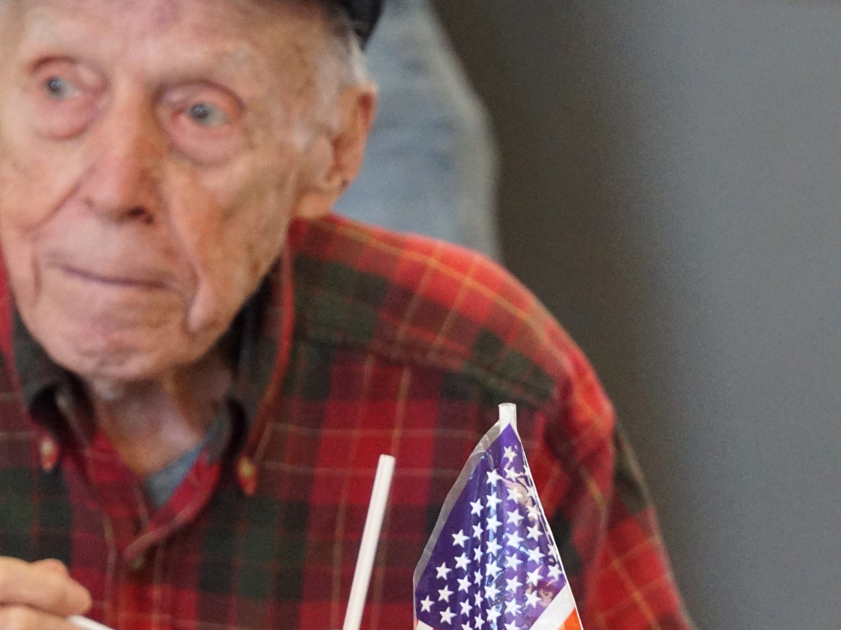 Veterans and their guests got a lunch of salad, bread and beef stew on March 18.