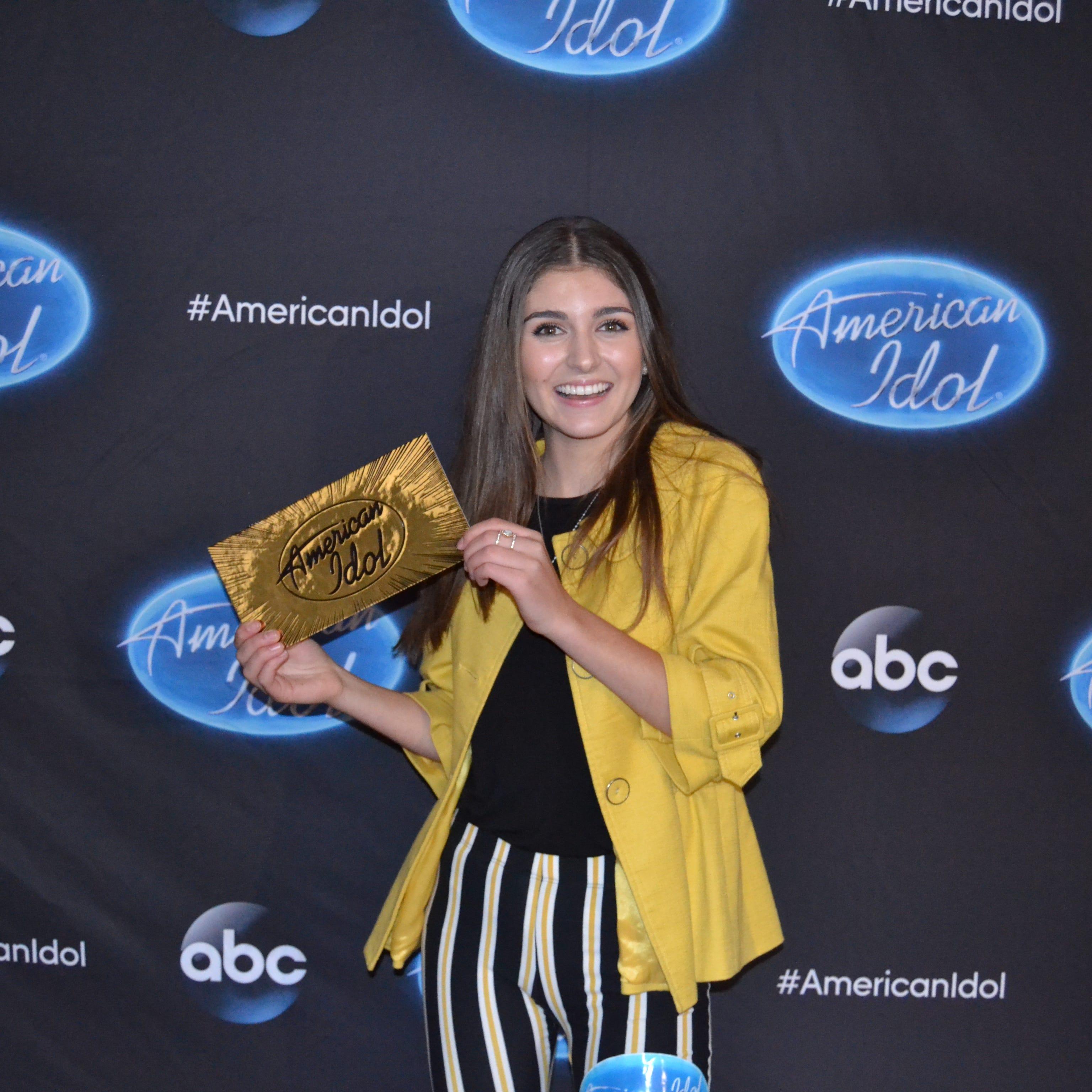 Oshkosh teen Franki Moscato gets golden ticket on 'American Idol,' advances to Hollywood