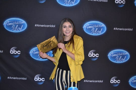 "Franki Moscato, 17, of Oshkosh, got a golden ticket to Hollywood the latest season of ""American Idol"" on ABC."