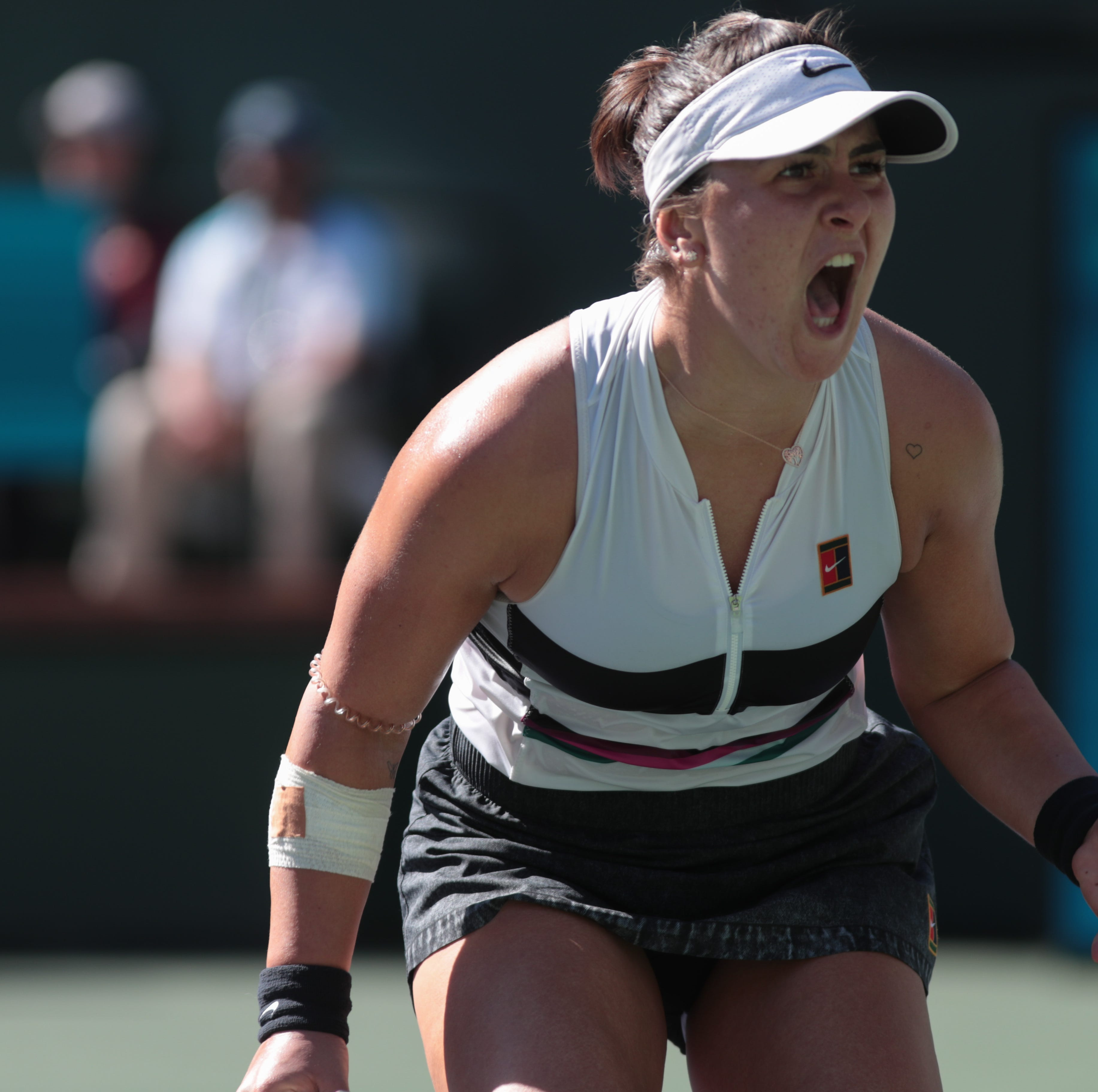 BNP Paribas Open moments: Bianca's rise, Serena's illness, Rafa's knee, bugs, raps and 25 more