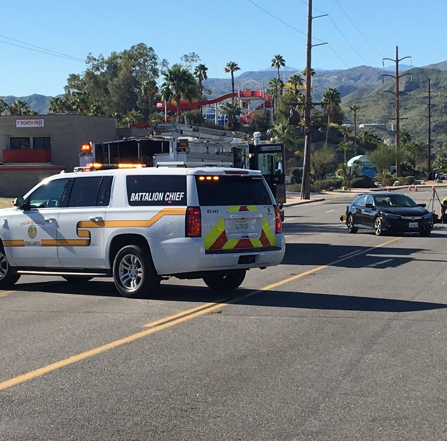 Fatal crash closes Gene Autry between Palm Canyon and Ramon Road in Palm Springs