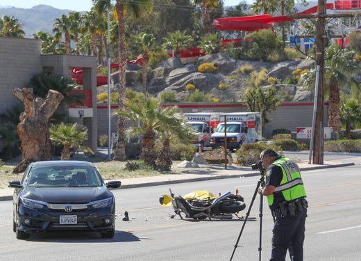 Man who died in fatal Palm Springs crash was a paramedic from Rancho