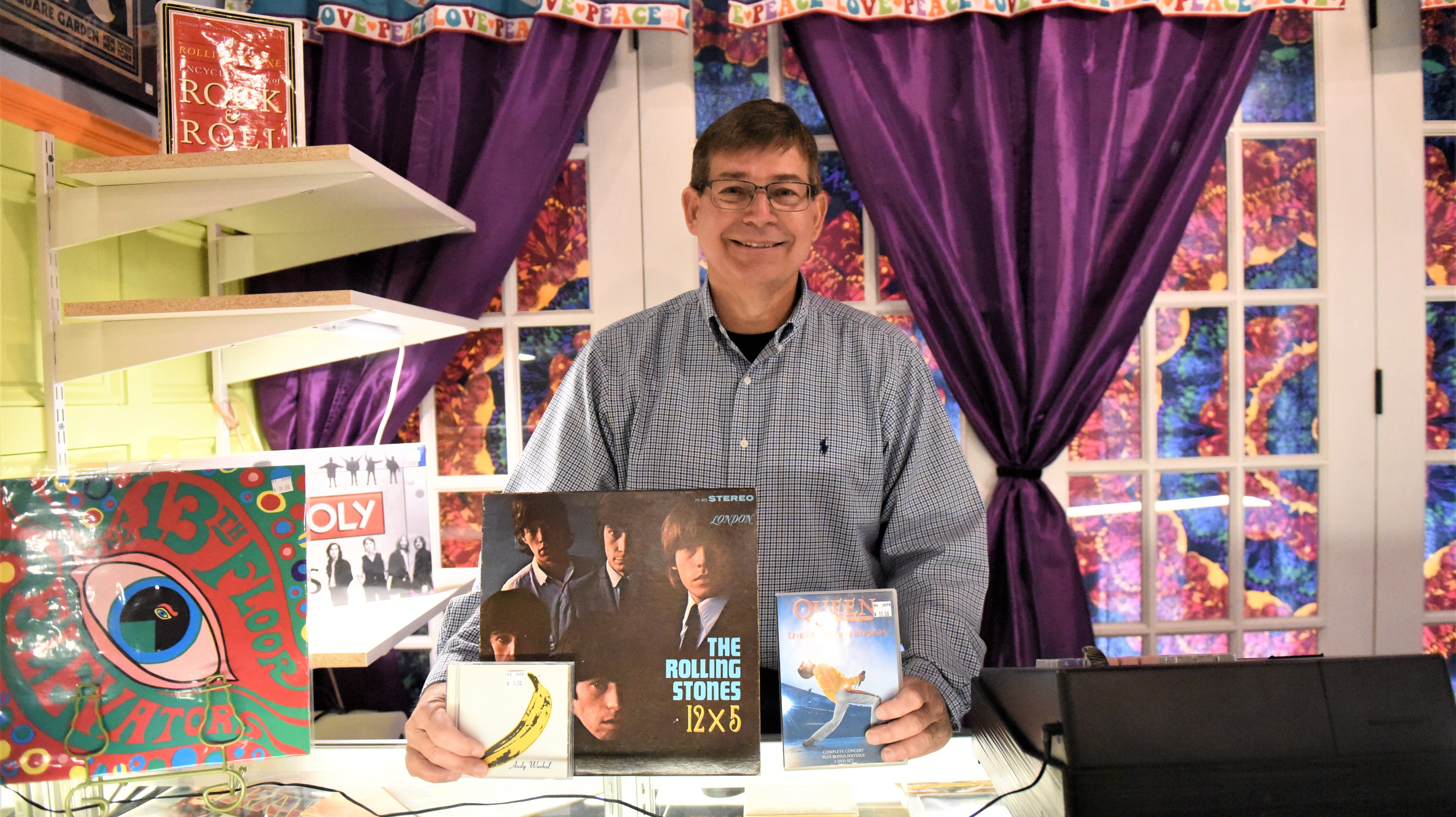 Hunting for vintage vinyl records? Head to Vinyl Visions in downtown Hanover