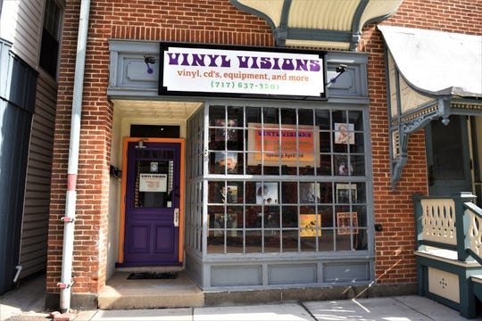 Vinyl Visions, on York Street, opens on April 3.
