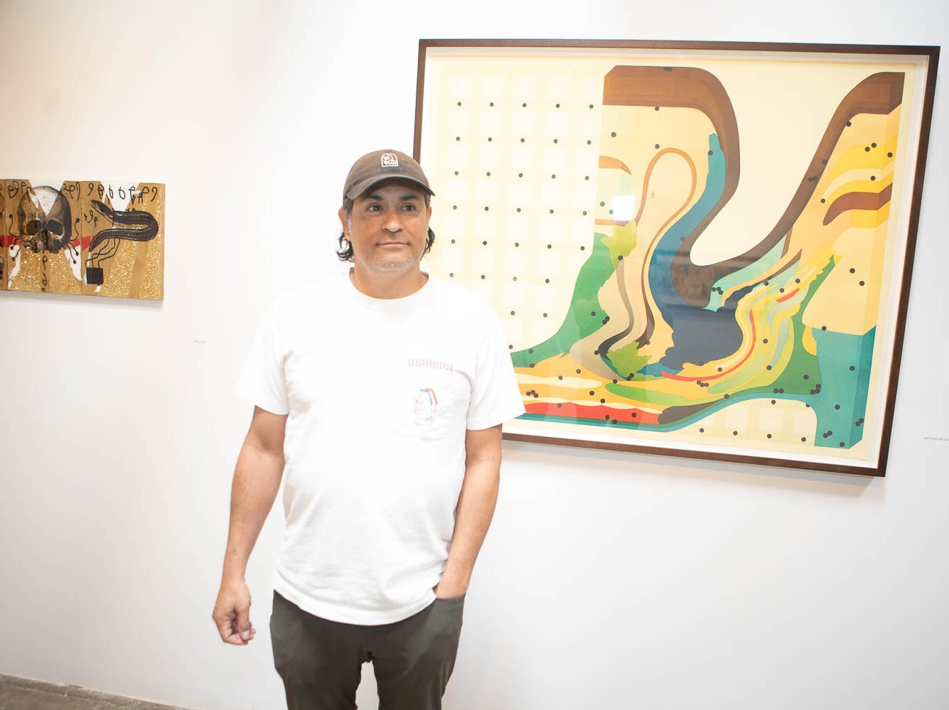 Artists displayed their work on March 16, 2019, in Phoenix during Art Detour.