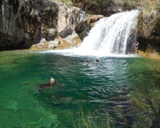 Permits are required to visit Fossil Creek from May 1 through October 1.