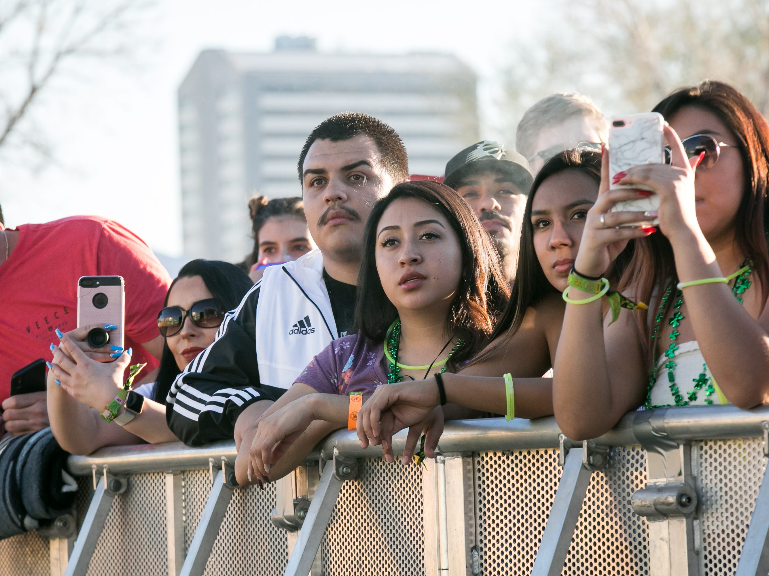 Fans enjoyed Young Dolph's set during Pot of Gold Music Festival on Sunday, March 17, 2019.