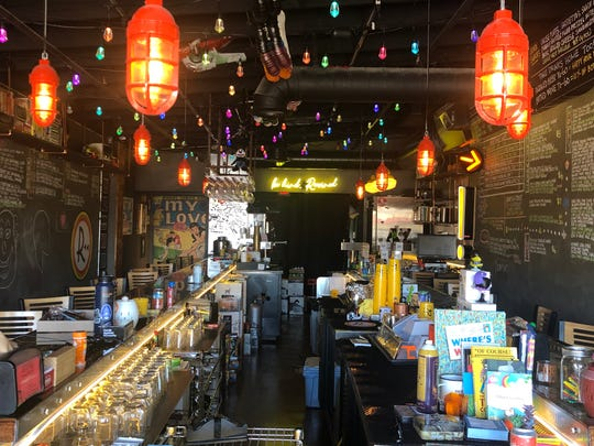 Rewined Beer and Wine Bar features old-school decor and good times with cassette decor, floppy disk coasters and other '80s and '90s nostalgia.