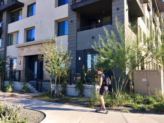 The Broadstone, one of downtown Phoenix's new apartment complexes in the heart of Roosevelt Row has sold for $84.2 million.
