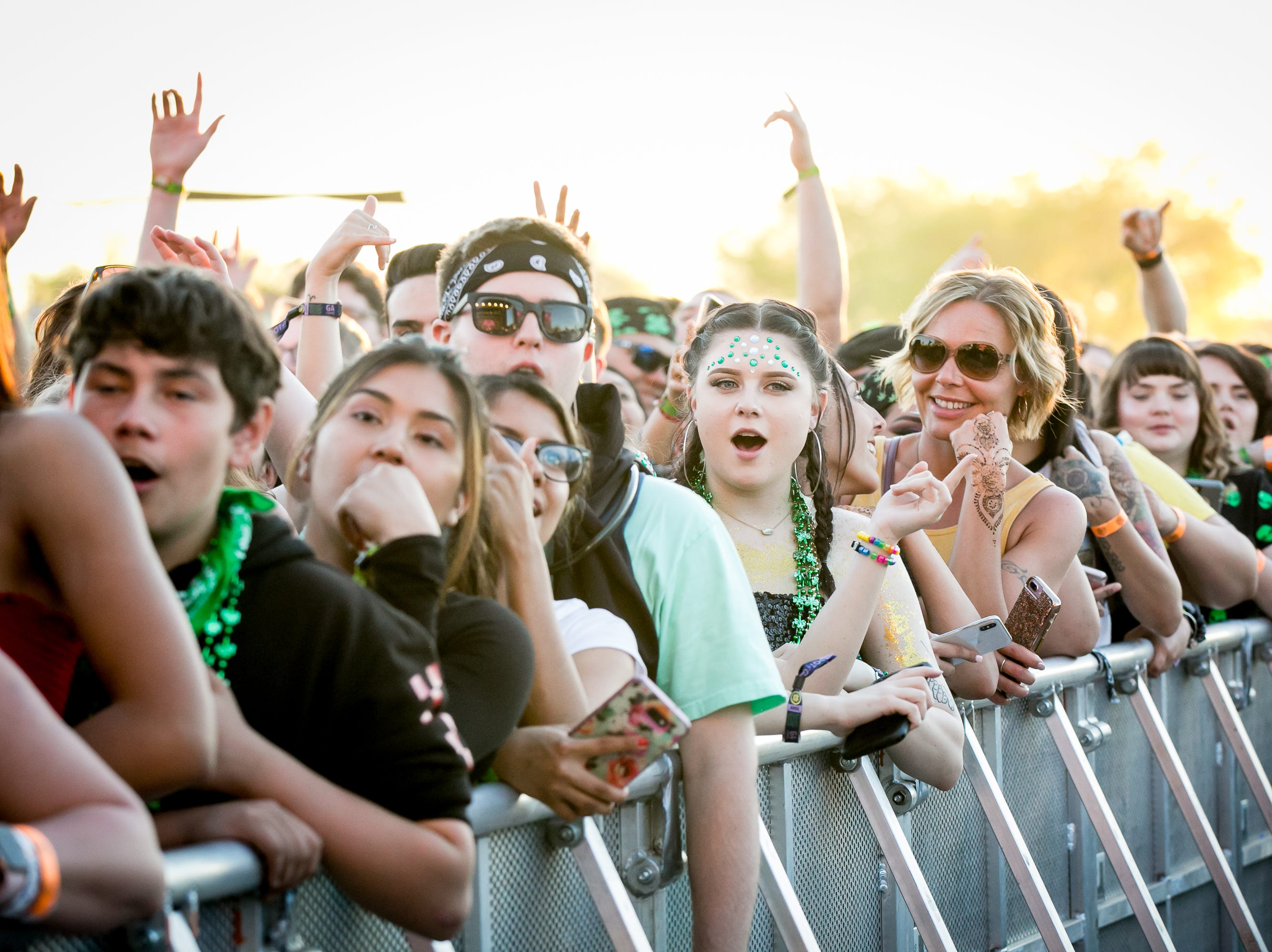 Lil Pump had thousands of adoring fans at Pot of Gold Music Festival on Sunday, March 17, 2019.