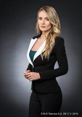 """Kimberly agradece la oportunidad de interpretar a un abogada en """"Por Amar sin ley""""."""