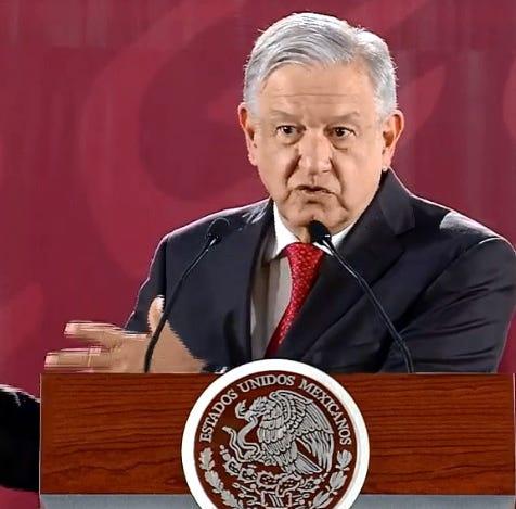 Andrés Manuel López Obrador desafía a contratistas petroleros