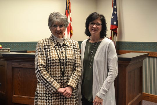 Judge Kathleen Giesler and Specialized Docket Coordinator Ann Johnson, along with a team of other professionals, collaborate to help parents through HOPE Court.