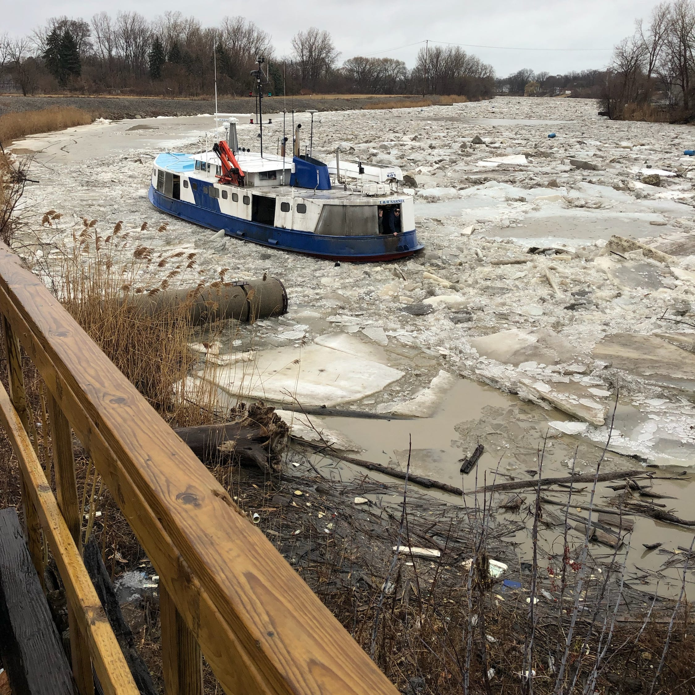 Officials keeping an eye on Black River as warm temps arrive