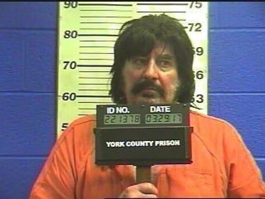 Paul Leahy in a 2019 York County Prison mugshot.