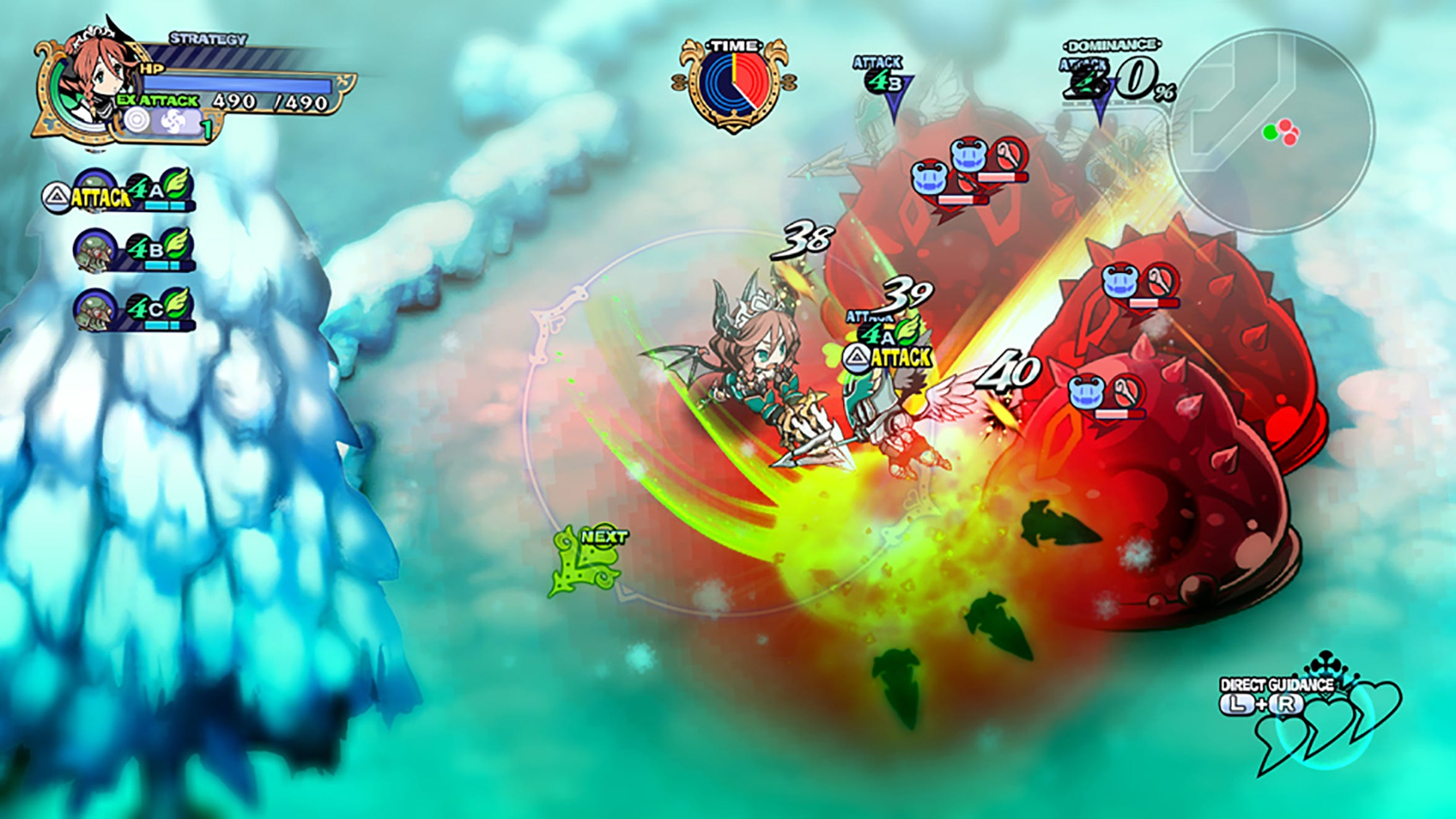 Gameplay of Dragon Princess Alpana from The Princess Guide for PlayStation 4.